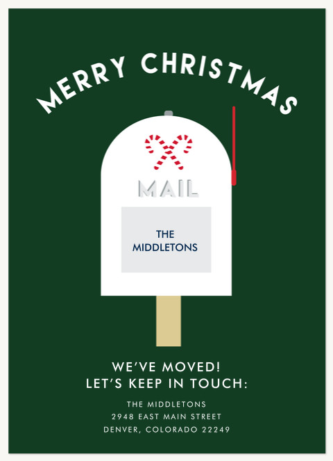 Jolly Mailbox Personalized Holiday Cards