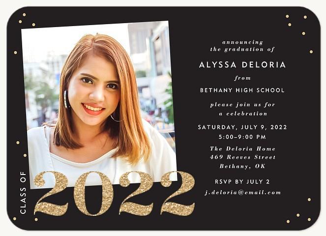 Shimmer Year Graduation
