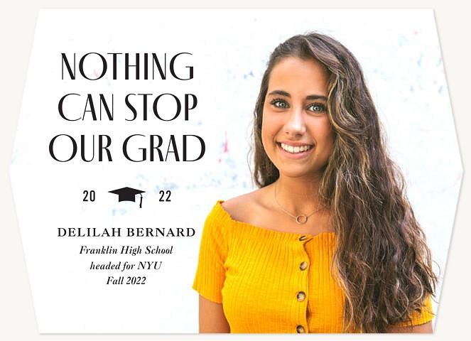 No Stopping Graduation