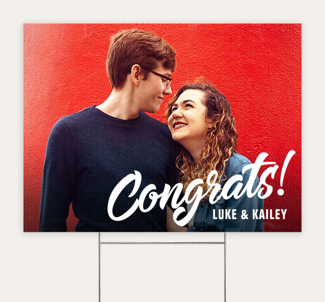 Congrats! Custom Yard Signs