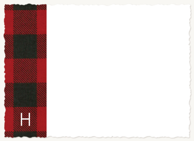 In Flannel Stationery