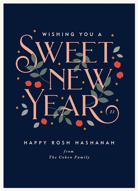 Bountiful Wishes Rosh Hashanah cards